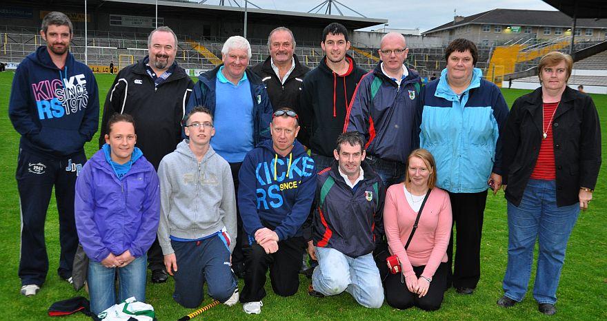 Clonaslee/St.Manmans Mentors attend All Ireland Training Night