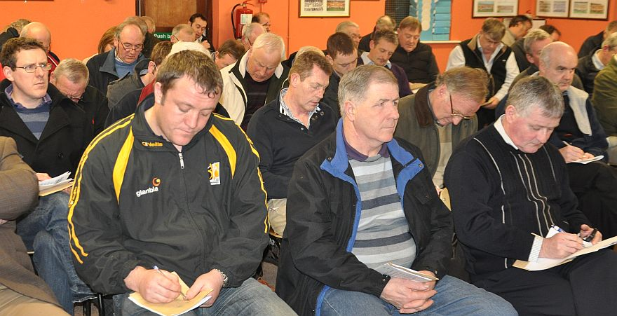 Draws never decided the Hurling and Football winners as delagates ponder who will carry the laurels at the end of the year.