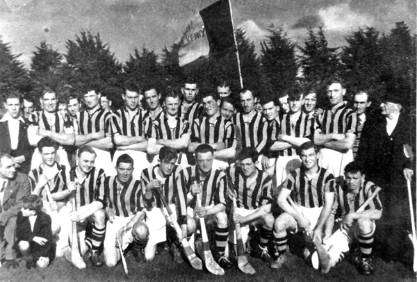 Back Joe Grace, Paul Fitzgerald, Jack Lynch, Dick Rockett, Rick Burke, John Barron, John Doherty, Tom Walsh, Billy Bolger, Nicky Healy, Donal Gorey, John Sutton. <br />