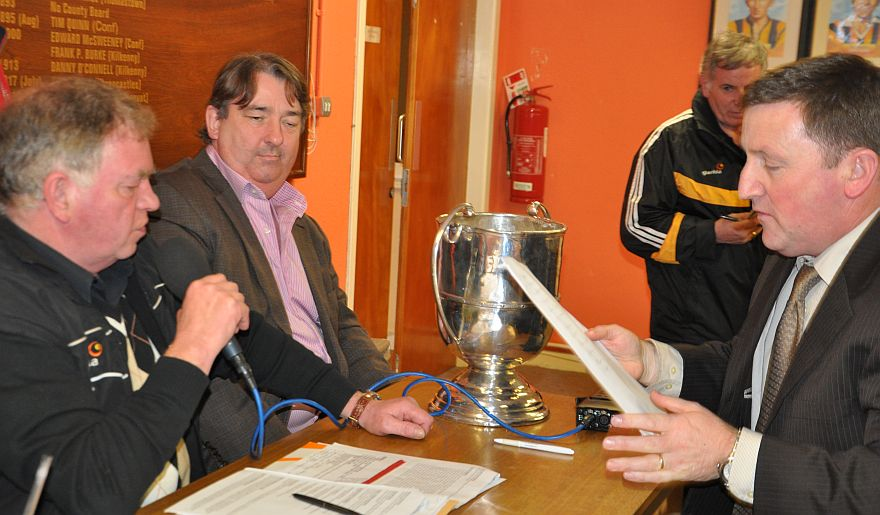 County PRO Conor Denieffe ensures all the Junior teams are in the mix for the four groups of the JJ Kavanagh and Sons Junior Hurling Championship