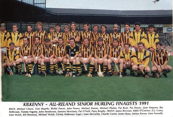 Kilkenny Senior Hurling Team 1991.