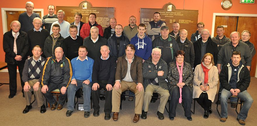 Some of the Northern Board Officers, Delegates and Club PRO's at the meeting