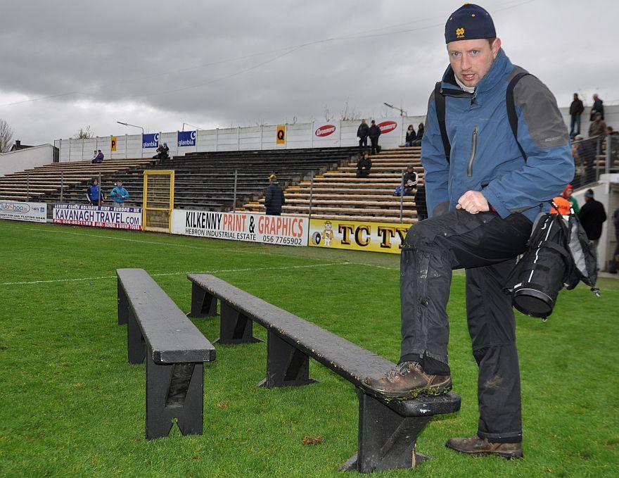Photographer Eoin Hennessey awaits Sundays Final Day