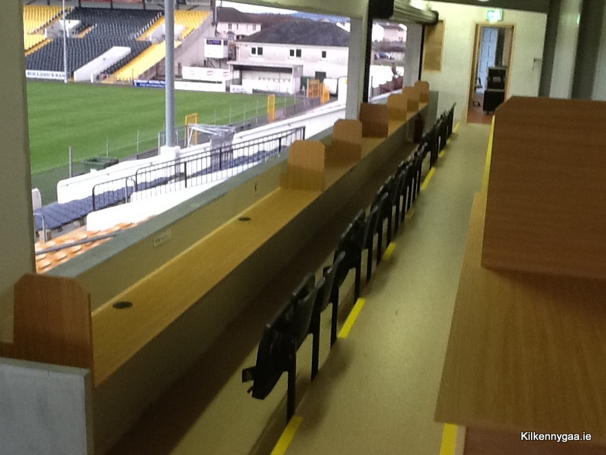 A general view of new Radio area in revamped Ardan Breathnach