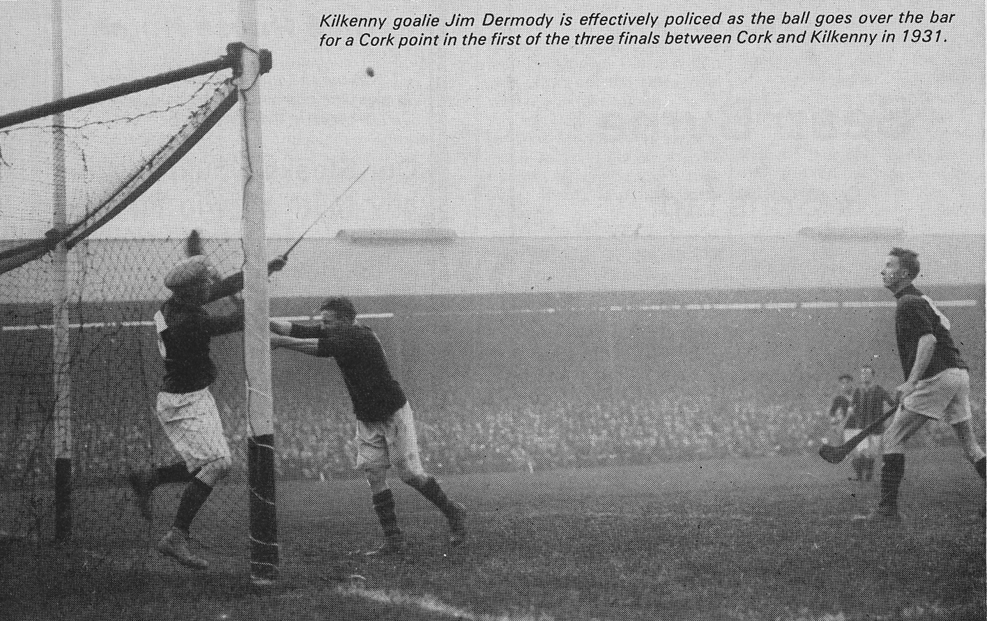 A Cork point from the first of the three deciders in 1931