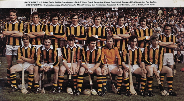 Kilkenny Senior Hurling Team 1978.
