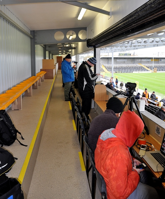 A general view of new media area.
