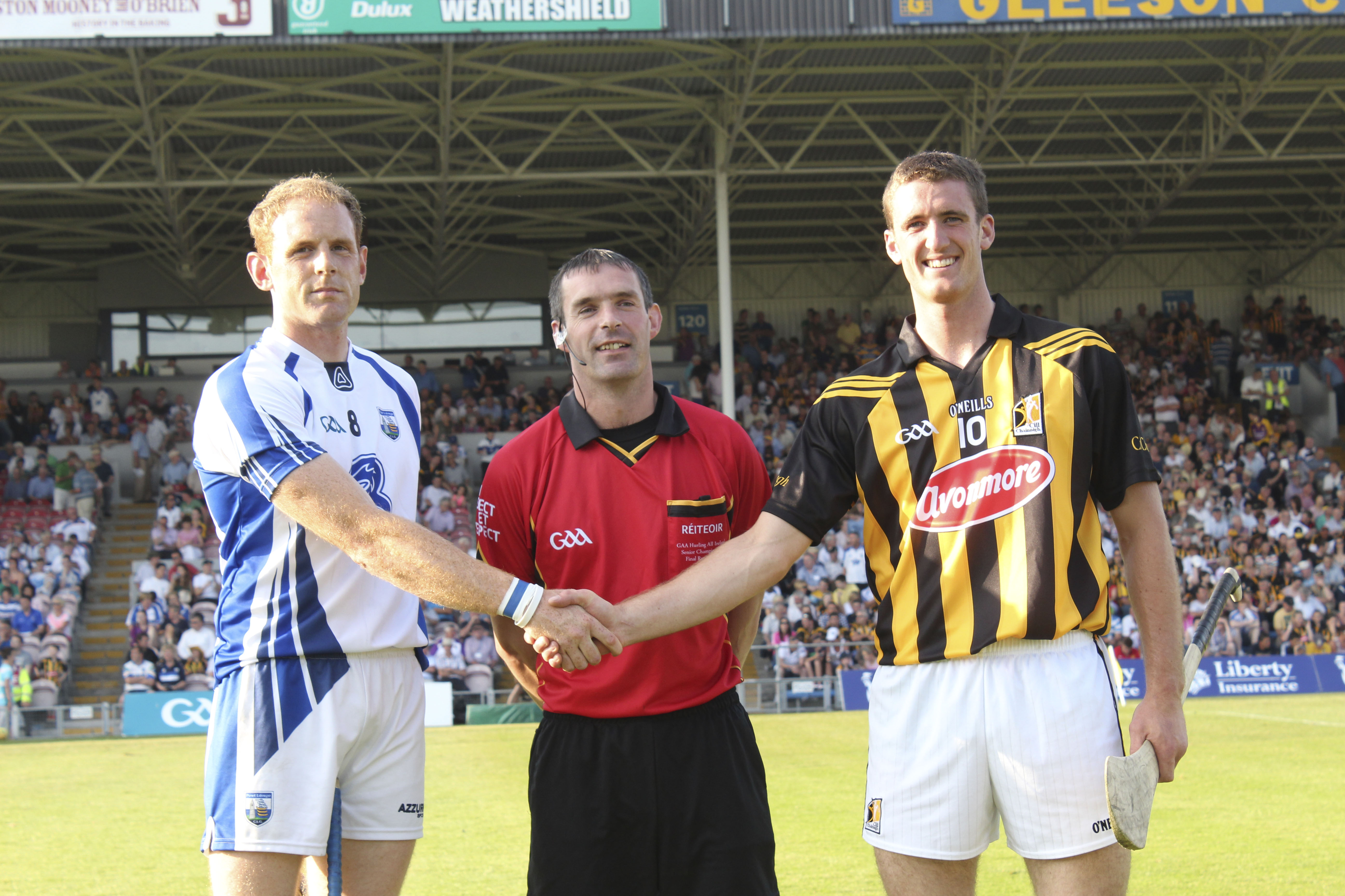 Kevin Moran Waterford  Referee James Owens  Wexford Colin Fennelly Kilkenny