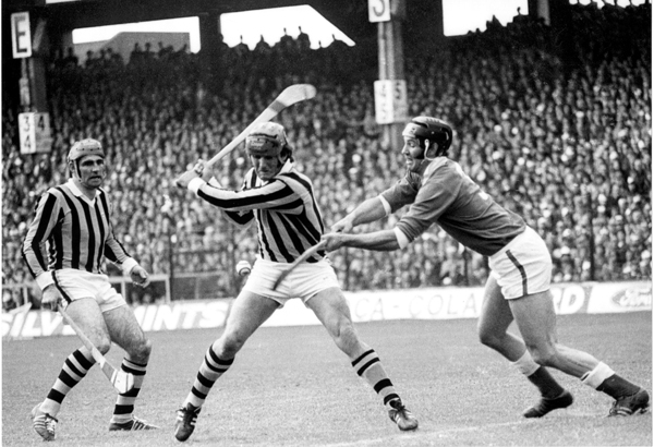 The terrible twins in action against Cork in the 70's.