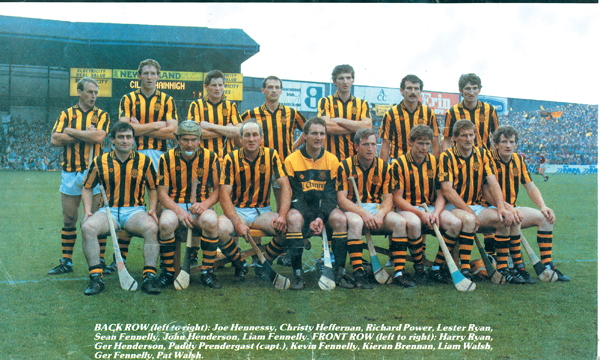 Kilkenny Senior Hurling Team 1987.