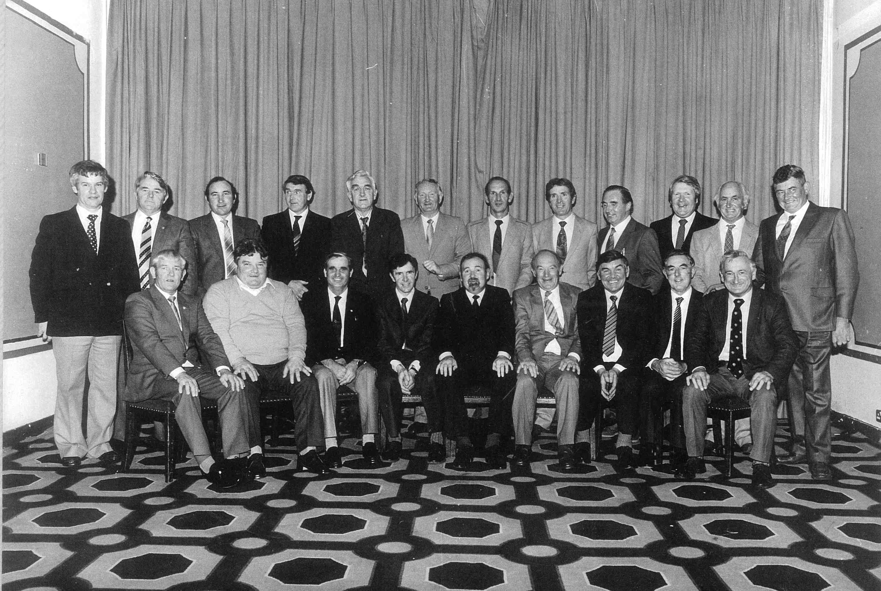 Kilkenny 1957 Team Honoured by Irish Nationwide 1982<br />