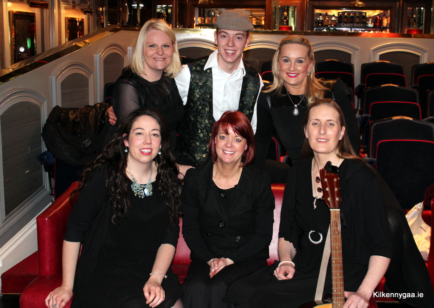Front Row: Mary B Dunphy, Trish Power & Anne Ging<br /> <br /> Back Row: Nicola Sheppard Molloy, Nicholas Dunphy & Tracey Millea
