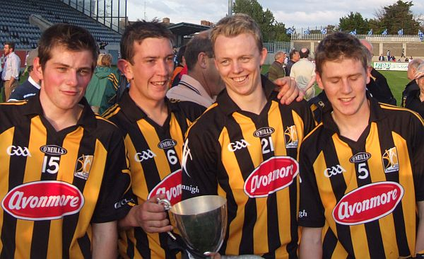 Contented players on a memorable Summers evening in Parnell Park. Photos compliments of POG & SW