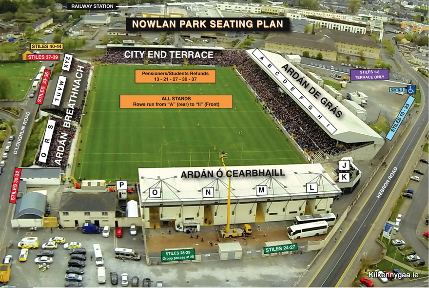 Nowlan Park Layout