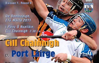 Kilkenny v Waterford Allianz Hurling League