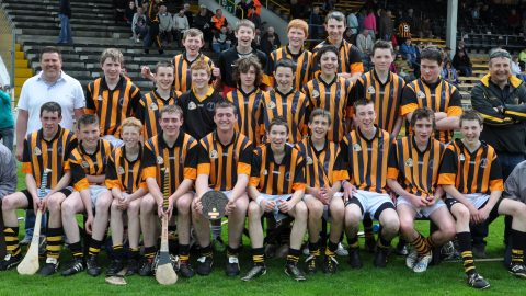 St. Lachtains take under sixteen Leinster Hurling League title