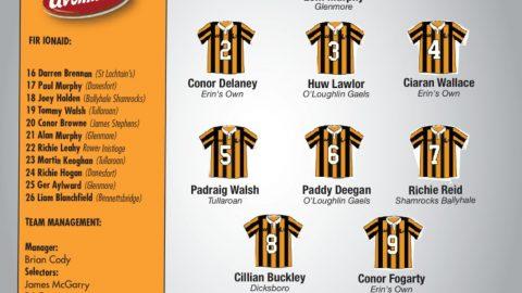 Kilkenny team Vs Dublin