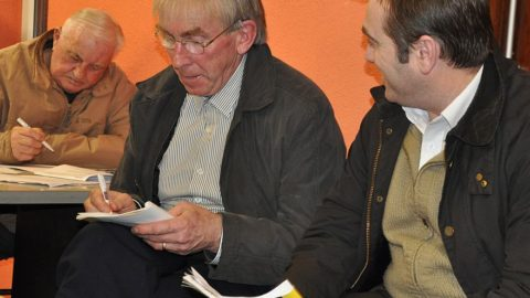 Fixtures Committee members already watching out for potential venues as the Hurling and Football Draws are made.