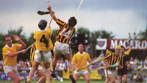 Kilkenny v Antrim, Dundalk 1988. Ray McManus/SPORTSFILE