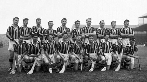 Kilkenny Senior Hurling Team which drew with Waterford in 1959..