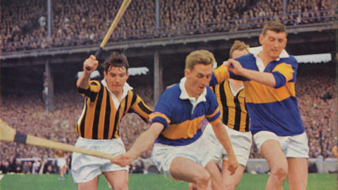 Fan Larkin, Donie Nealon, Cha Whelan and Sean McLoughlin in the 1964 All Ireland Final