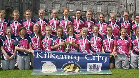 Kilkenny City Ladies Peil Na nÓg Division 3 Winners