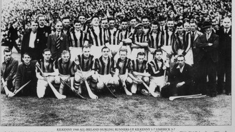 Kilkenny Senior Hurling Team 1940.