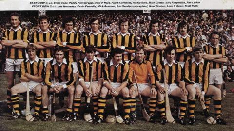 Kilkenny Senior Hurling Team 1978.