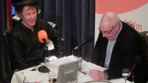 Peter Aiken announces details of Springsteen Concerts on Breakfast with Hector on 2FM at the Set Theatre
