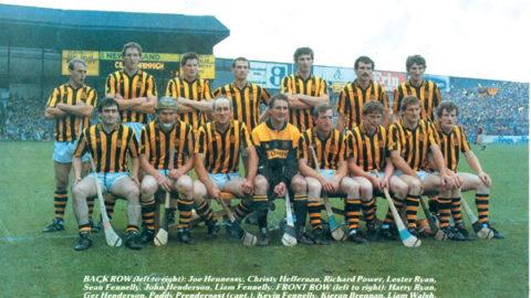 Kilkenny Senior Hurling Team 1987.