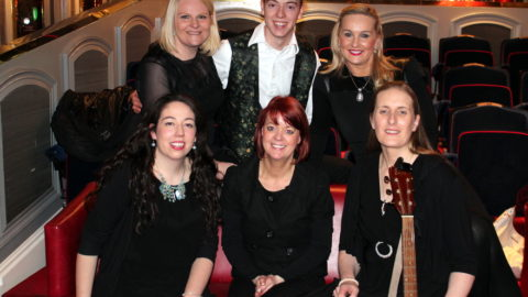 Front Row: Mary B Dunphy, Trish Power & Anne Ging Back Row: Nicola Sheppard Molloy, Nicholas Dunphy & Tracey Millea