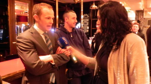 Tommy Walsh being interviewed by KCLR