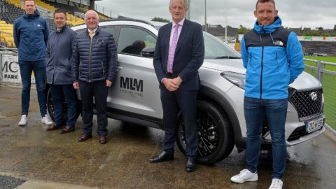 Michael Lyng Motors Sponsorship Photocall