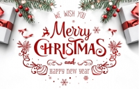Happy Christmas and Best wishes in 2021