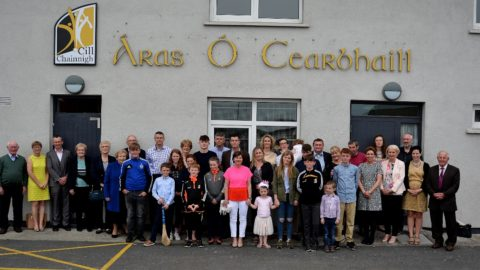 Official Dedication of Áras Ó Cearbhaill