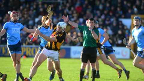Allianz NHL 1st Round – Kilkenny Team Vs Dublin