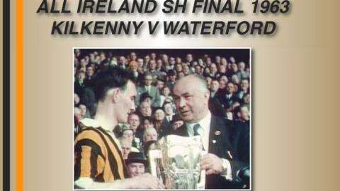 2013 – Kilkenny 1963 Team